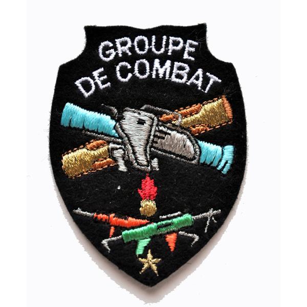 ECUSSON BRODE GROUPE DE COMBAT