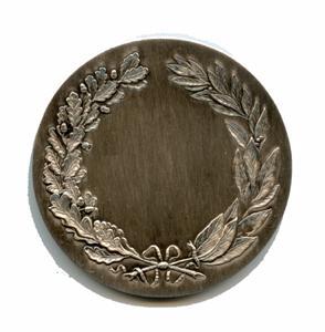 MEDAILLE HONNEUR LAURIERS bronze argente