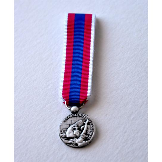 DEFENSE NATIONALE argent - reduction miniature