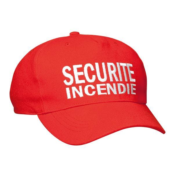 CASQUETTE SECURITE INCENDIE