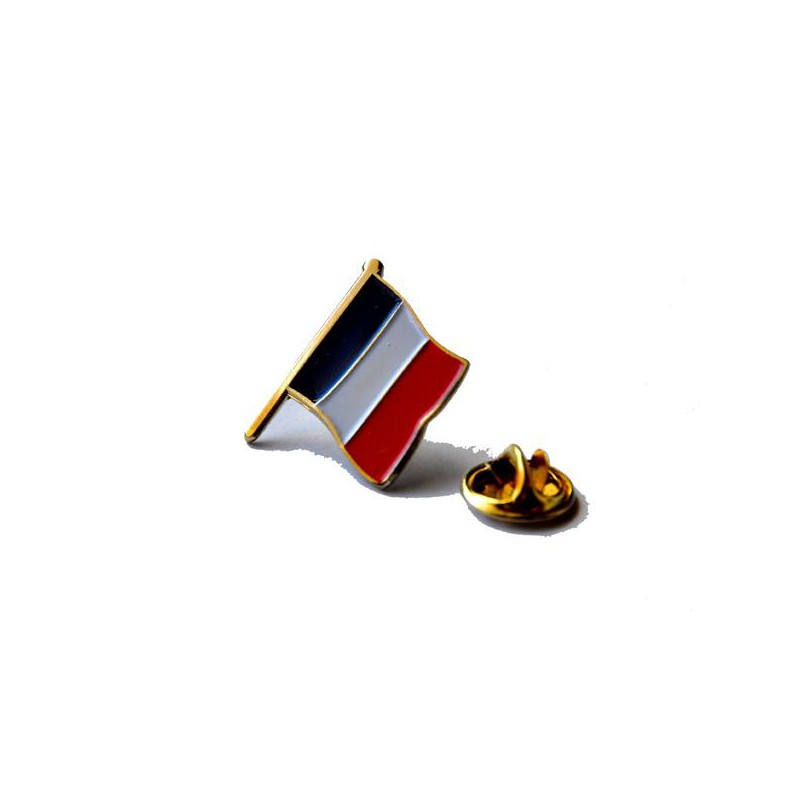 France and US Flags Lapel Pin (1 in) Metal   FlagandBanner.com
