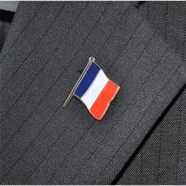 PINS FRANCE EMAILLE 24mm