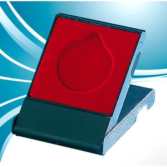 ECRIN CHEVALET PLASTIQUE NOIR POUR MEDAILLE RONDE 50mm