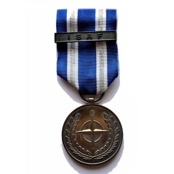 MEDAILLE OTAN ISAF