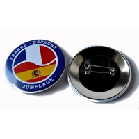 BADGE EPINGLE FRANCE ESPAGNE