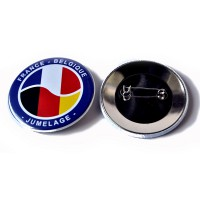 badge epingle france belgique