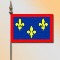 MINI DRAPEAU DE TABLE 10X14CM Anjou