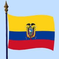 DRAPEAU Équateur