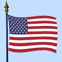 DRAPEAU USA Etats Unis