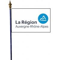 DRAPEAU REGION AUVERGNE RHONES ALPES