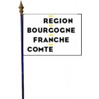 DRAPEAU REGION BOURGOGNE FRANCHE COMTE