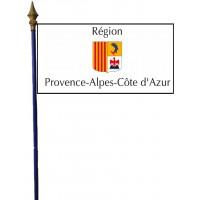 DRAPEAU REGION PACA