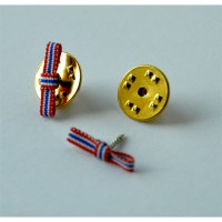Ruban dame - police 20 ANS - Noeud pins