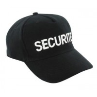 CASQUETTE SECURITE PRIVEE