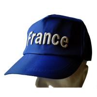 CASQUETTE FRANCE bleue
