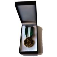 MEDAILLE COMMUNALE 30 ANS VERMEIL bronze dore