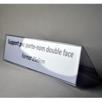 CHEVALET PORTE NOM pvc 25x6cm