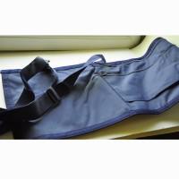 ETUI PORTE DRAPEAU polyester bleu - sangle de portage et bretelles