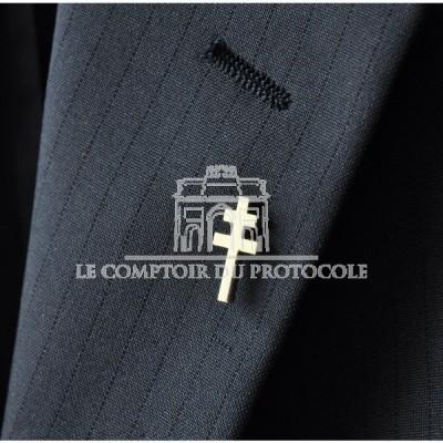 PINS CROIX DE LORRAINE FRANCE LIBRE