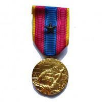 MEDAILLE D OR SANS CROIX DE LA DEFENSE NATIONALE étoile de bronze.