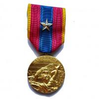 MEDAILLE D OR SANS CROIX DE LA DEFENSE NATIONALE étoile argent
