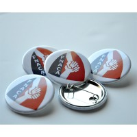 BADGE FNACA 38mm LOT de 10 ex