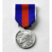 MEDAILLE SERVICES MILITAIRES VOLONTAIRES argent SVM