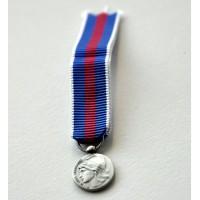 Médaille SERVICES MILITAIRES VOLONTAIRES argent miniature smv