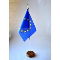 MINI DRAPEAU DE TABLE EUROPE TISSU 10X14CM