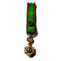 MEDAILLE DU MERITE AGRICOLE officier - reduction métal doré
