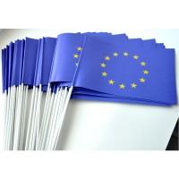 DRAPEAU EUROPE PAPIER 12X24CM - lot de 50 ex