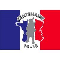 DRAPEAU du Centenaire de la Guerre 1914-1918 - 100x150cm