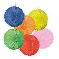 12 Lampions tricolores - 22cm ballon