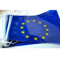 GUIRLANDE EUROPE SIGLE UE PVC 10m - 20 fanions
