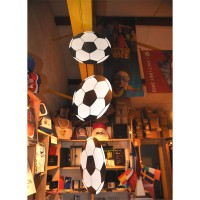 SUSPENSION VERTICALE 3 BALLONS de FOOT - carton