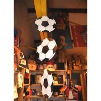 SUSPENSION VERTICALE 3 BALLONS de FOOT - carton