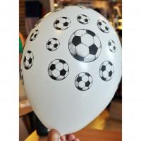 sachet de 20 ballons de foot à gonfler