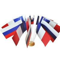 DRAPEAUX RUSSIE PAPIER - 12X24CM