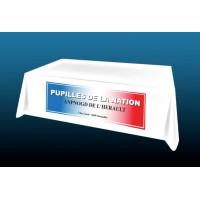 Nappe personnalisée pour association - 150x300cm