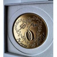 Médaille des Noces d'Or 50 ans - 65mm
