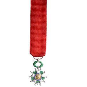 LEGION D HONNEUR CHEVALIER miniature reduction bronze