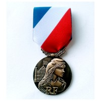 MEDAILLE SECURITE INTERIEURE bronze MSI