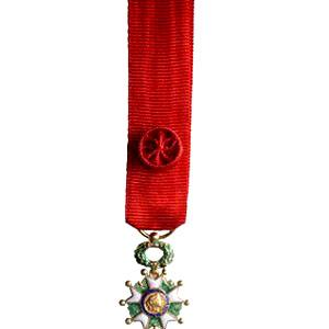 LEGION D HONNEUR OFFICIER miniature reduction bronze