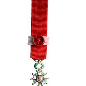 LEGION D HONNEUR COMMANDEUR miniature reduction bronze