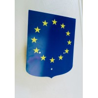 ECUSSON PORTE DRAPEAUX 40x50cm - EUROPE