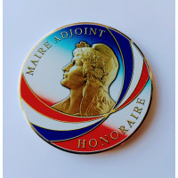 MEDAILLE DE MAIRE HONORAIRE ADJOINT
