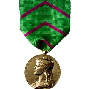 Médaille honneur pénitentiaire bronze