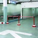 Poteaux de guidage de sécurité