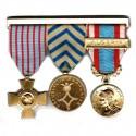Barrette porte médailles
