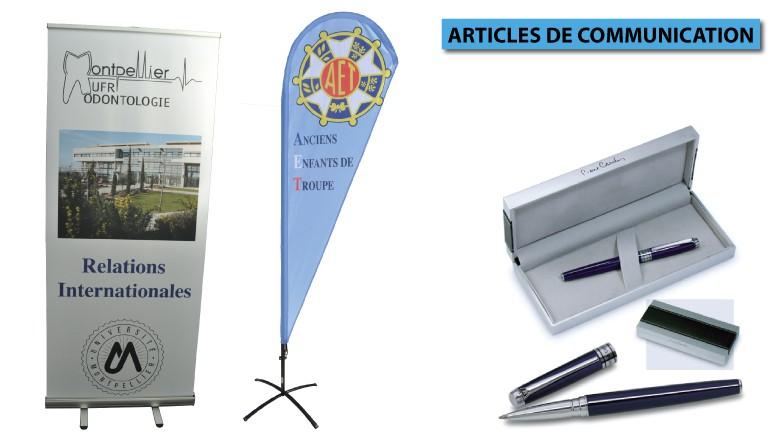 ARTICLES DE COMMUNICATION MAIRIES